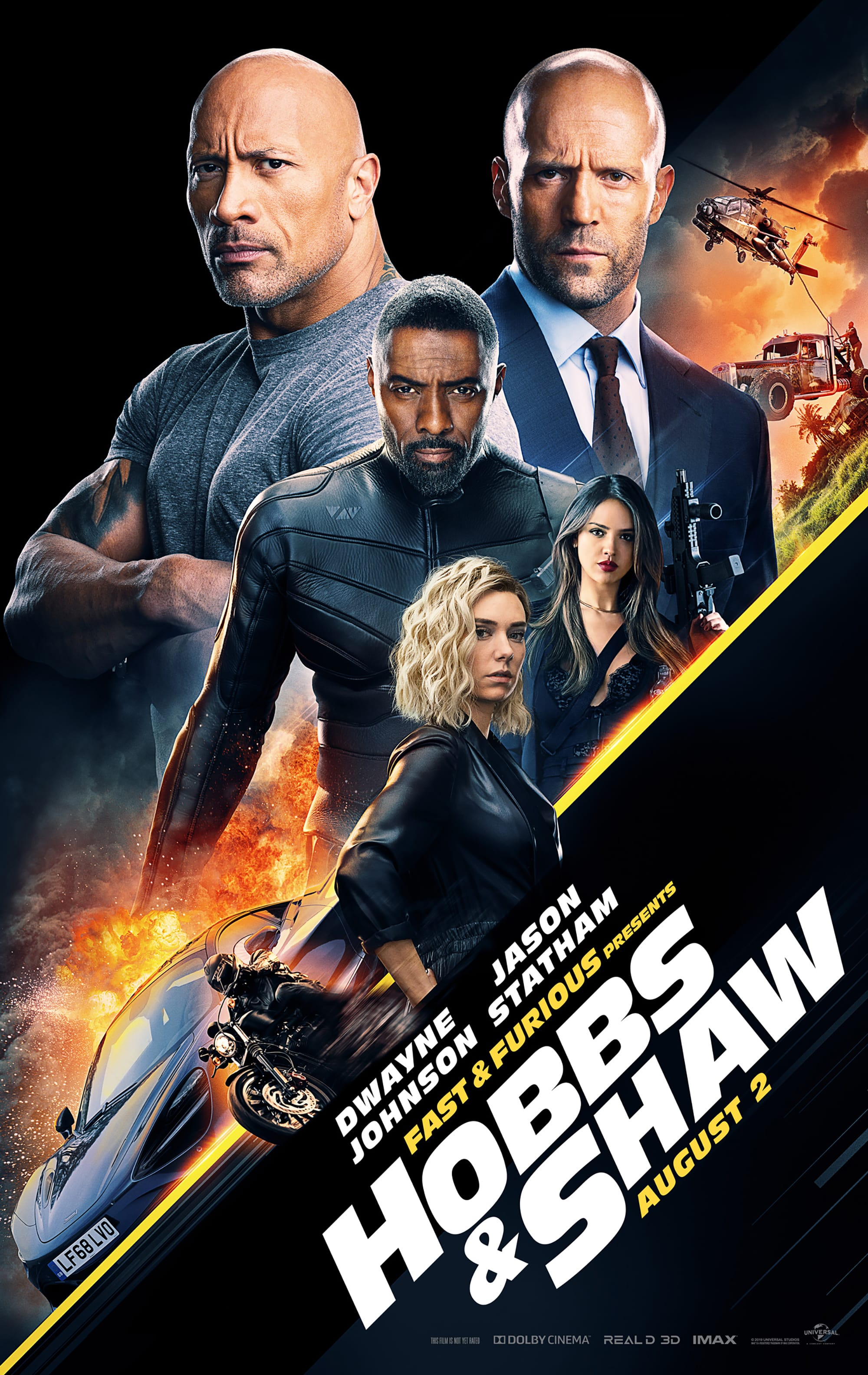 Movie Review: Hobbs & Shaw (2019)